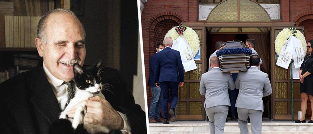 Ντίνος Χριστιανόπουλος: σε κλίμα οδύνης η κηδεία του