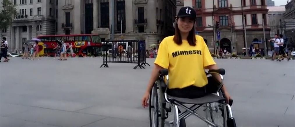 Πηγή έμπνευσης η αθλήτρια χωρίς πόδια (βίντεο)