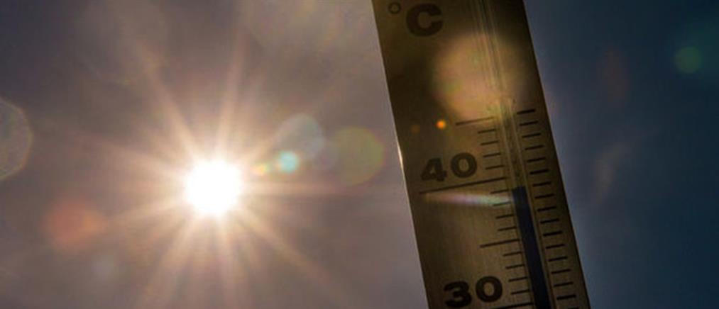 """""""Έσπασε"""" ρεκόρ 160 χρόνων η θερμοκρασία"""