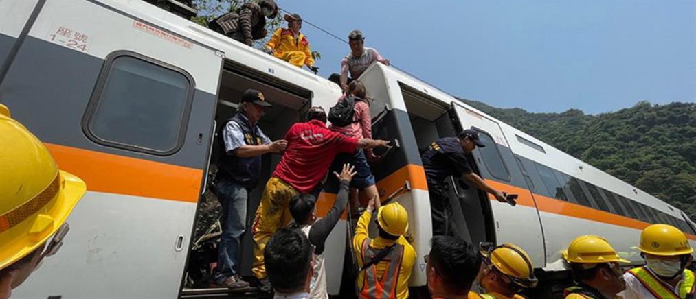Ταϊβάν: Δεκάδες νεκροί από εκτροχιασμό τρένου (βίντεο)