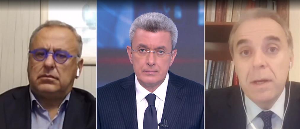 Δελλατόλας - Αμυράς στον ΑΝΤ1 για την απεργία εν μέσω κορονοϊού (βίντεο)