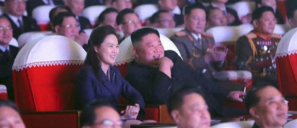 Εμφανίστηκε η….εξαφανισμένη σύζυγος του Κιμ Γιονγκ Ουν