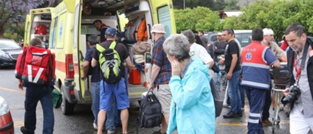 Κεραυνός «χτύπησε» την Κνωσό – Τραυματίστηκαν τουρίστες