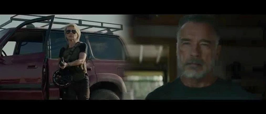 """Άρνολντ Σβαρτζενέγκερ και Λίντα Χάμιλτον στο """"Terminator 6"""" (βίντεο)"""