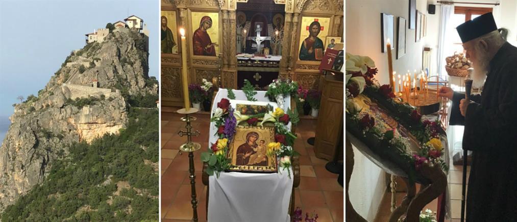Ο Αρχιεπίσκοπος Ιερώνυμος στην Ιερά Μονή των Αγίων Θεοδώρων στη Ζάλτσα (εικόνες)