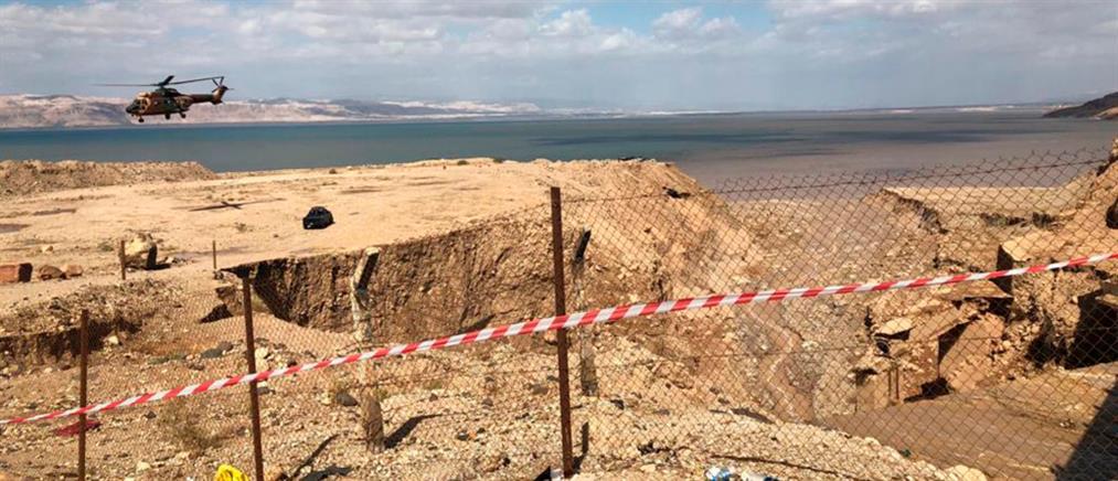 Τραγικός ο απολογισμός από τις πλημμύρες στην Ιορδανία (βίντεο)