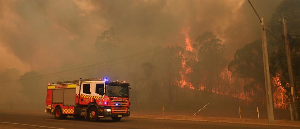 Νεκροί πυροσβέστες στις φωτιές που μαίνονται στην Αυστραλία (βίντεο)