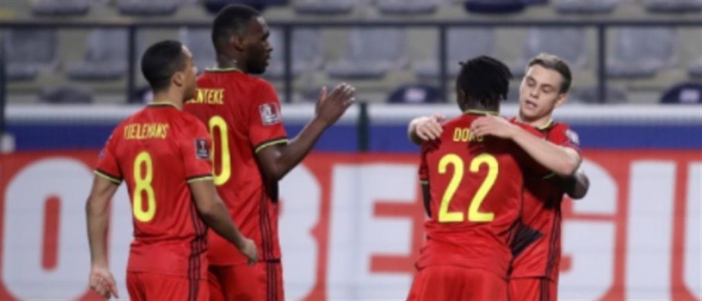 """Προκριματικά Μουντιάλ 2022: """"Περίπατοι"""" για Βέλγιο και Ολλανδία"""
