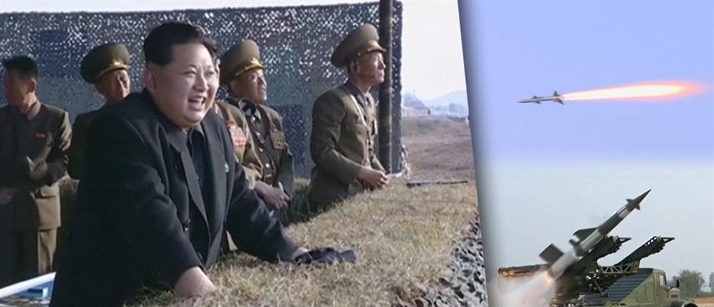 Πυραυλική δοκιμή παρακολούθησε ο Κιμ Γιονγκ Ουν (Βίντεο)