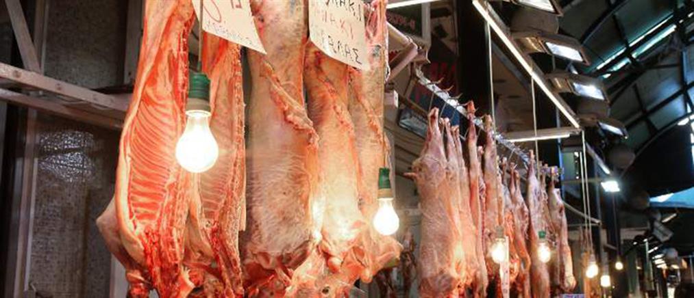 Κρεοπωλείο είχε εκατοντάδες κιλά από ακατάλληλα κρέατα