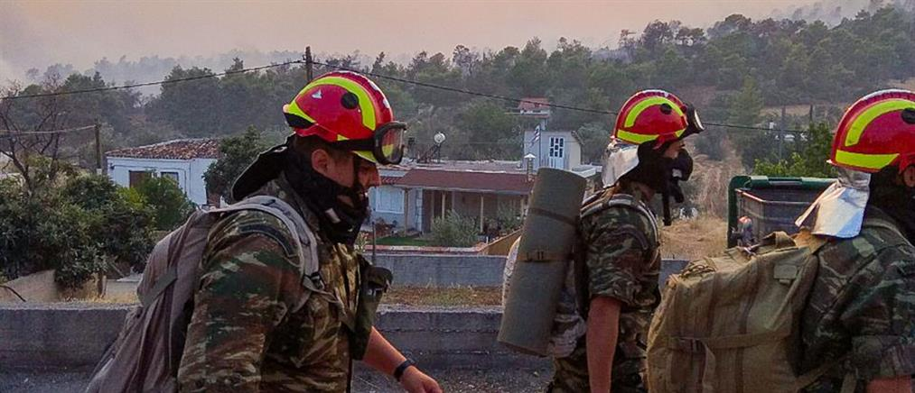 Φωτιές: Το επιχειρησιασκό σχέδιο των Ενόπλων Δυνάμεων