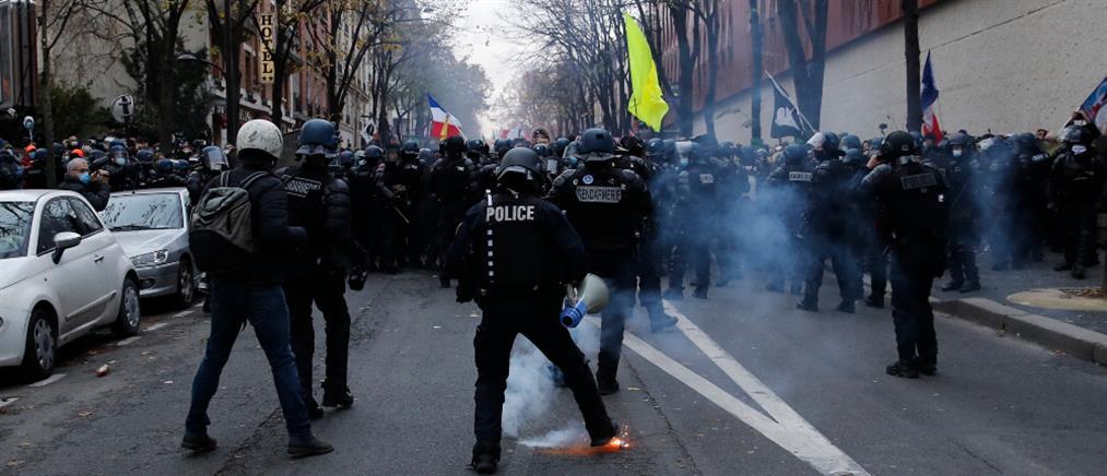 Επεισόδια σε διαδήλωση στο Παρίσι (εικόνες)