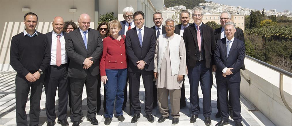 Eurobank: Συνάντηση προς τιμήν του νομπελίστα καθηγητή Muhammad Yunus