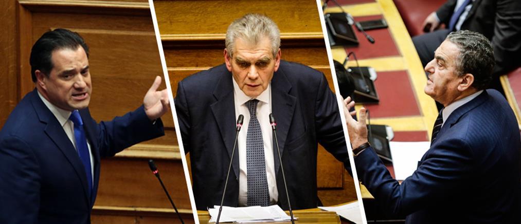 Σύγκρουση Παπαγγελόπουλου με Γεωργιάδη – Αθανασίου στην Βουλή για την Novartis