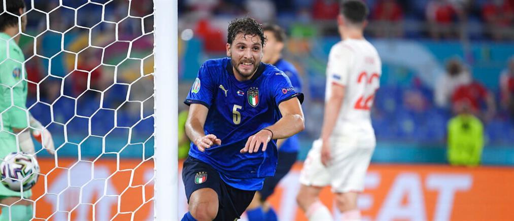 Euro 2020: Η Ιταλία συνέτριψε και την Ελβετία (βίντεο)