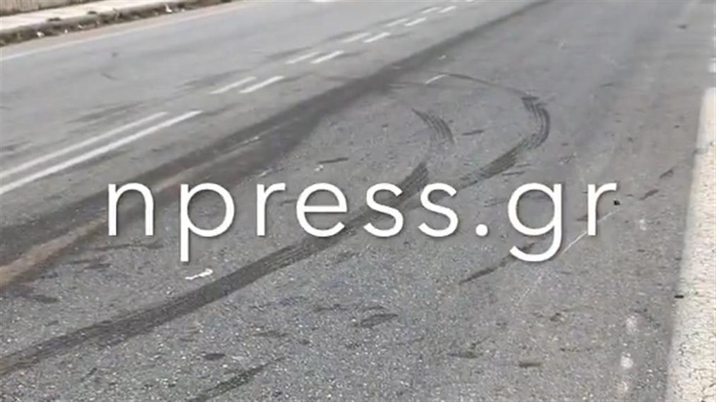Σύγκρουση μηχανών στην Ναύπακτο