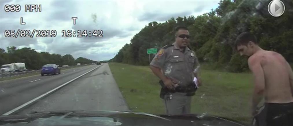 Ύποπτος κλέβει περιπολικό και… εξαφανίζεται (βίντεο)