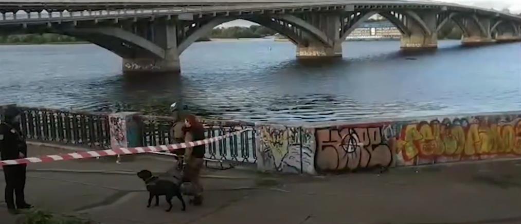 Συναγερμός στο Κίεβο για απειλή ανατίναξης γέφυρας (βίντεο)