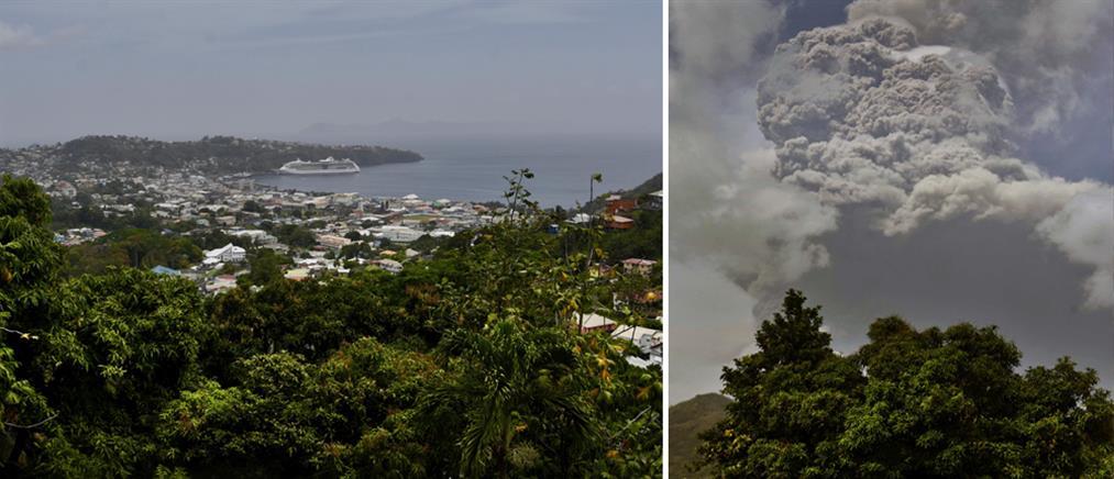 Καραϊβική: Ηφαίστειο προκάλεσε εκκένωση περιοχής (εικόνες)