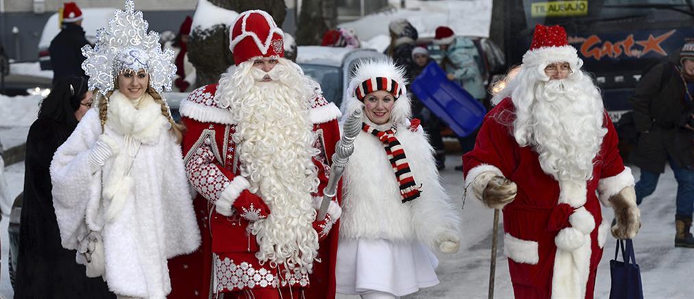 Όταν ο Φινλανδός Αϊ-Βασίλης συνάντησε τον Ρώσο «ομόλογό» του…