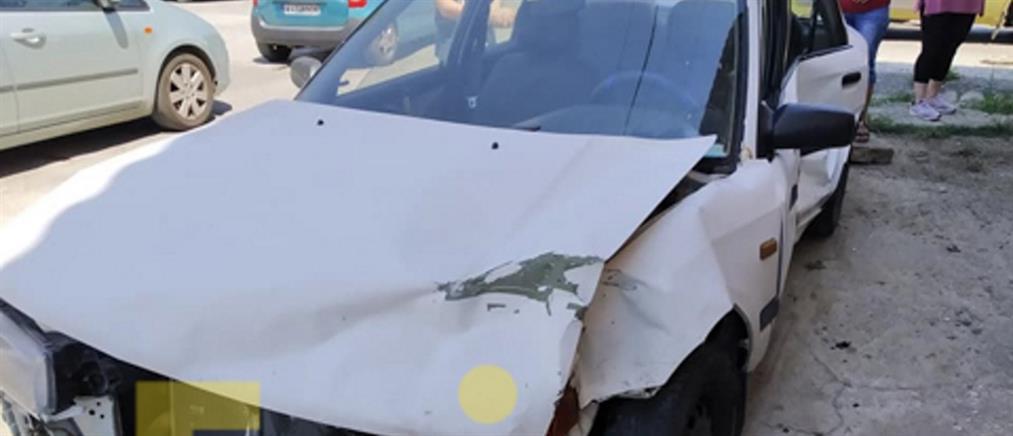 Αλλεπάλληλα τροχαία στην Εύβοια (εικόνες)