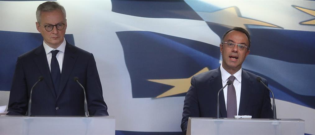 Κορονοϊός: το οικονομικό πλήγμα προβληματίζει Λεμέρ - Σταϊκούρα