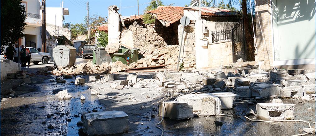 Σεισμός στην Κρήτη: Εικόνες καταστροφής στο Ηράκλειο