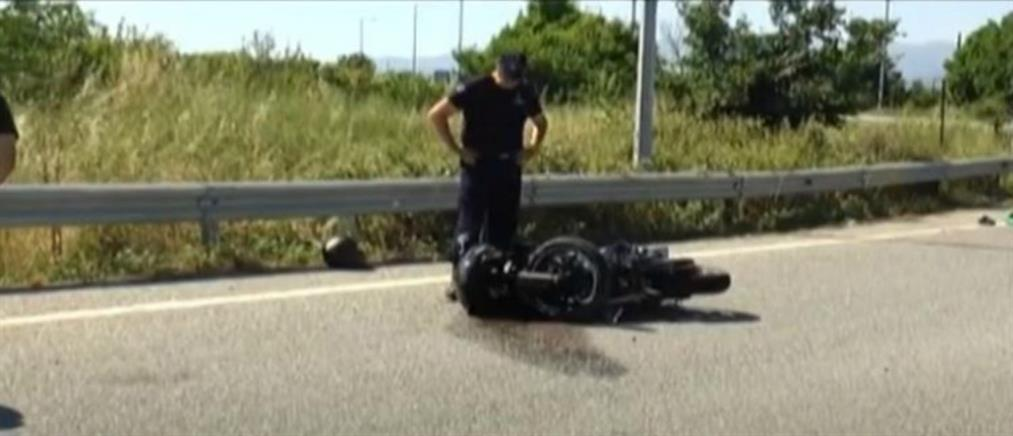 Νεκρός σε τροχαίο νεαρός μοτοσικλετιστής (βίντεο)