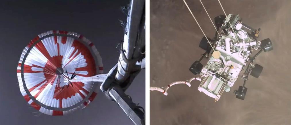 NASA - Perseverance: Το πρώτο βίντεο της προσεδάφισης στον Άρη