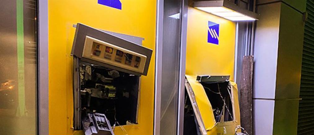 Διαρρήκτες ανατίναξαν ΑΤΜ έξω από τράπεζα