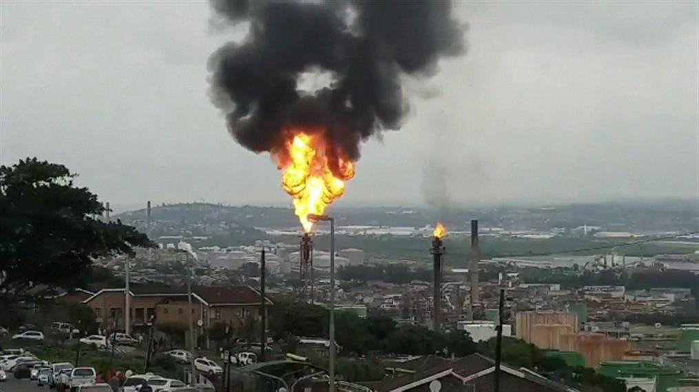 Έκρηξη σε διυλιστήριο στη Νότια Αφρική