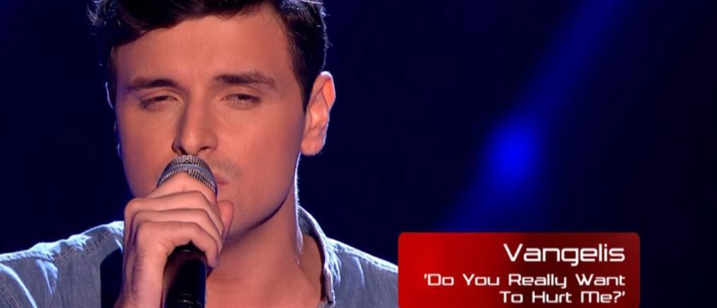 """Ένας Έλληνας ξετρέλανε το βρετανικό """"The Voice"""" (Βίντεο)"""