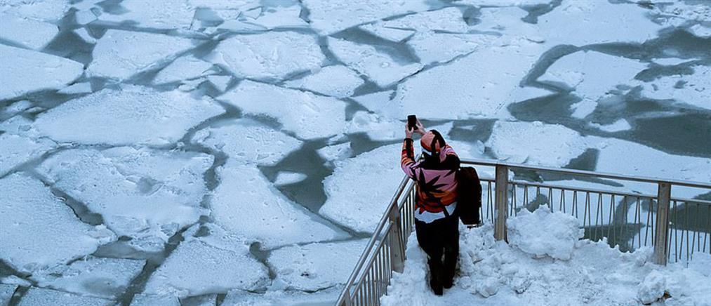 """Πολικές θερμοκρασίες έβαλαν στην """"κατάψυξη"""" τις ΗΠΑ (εικόνες)"""