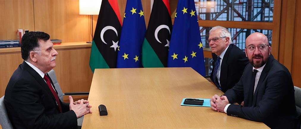 """""""Καμπανάκι"""" της ΕΕ στον Σάρατζ για την συμφωνία Τουρκίας - Λιβύης"""