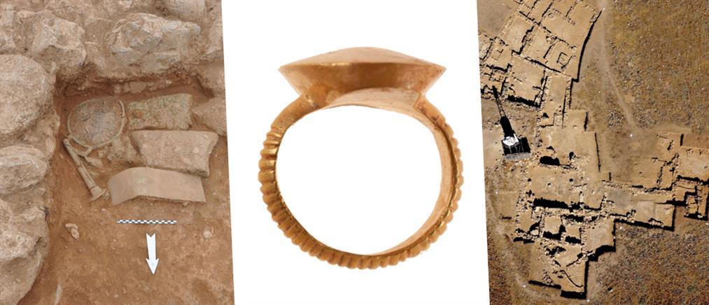 Μινωικός οικισμός ήρθε στο φως από ανασκαφές στη νήσο Χρυσή (εικόνες)