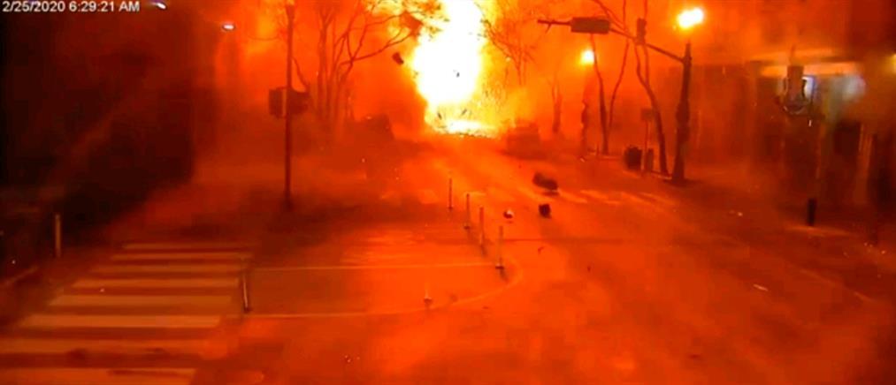 Νάσβιλ: Η στιγμή της έκρηξης και ο δράστης που ανατινάχθηκε (βίντεο)