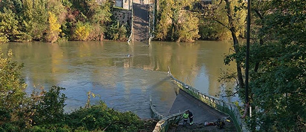 Γαλλία: φονική κατάρρευση γέφυρας (εικόνες)