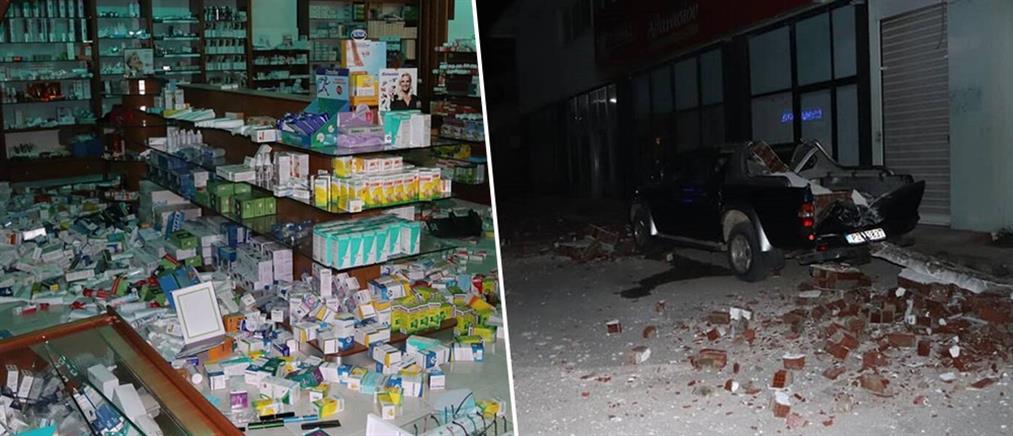 Σεισμός στην Πάργα: άρχισε η καταγραφή και αποκατάσταση ζημιών (εικόνες)