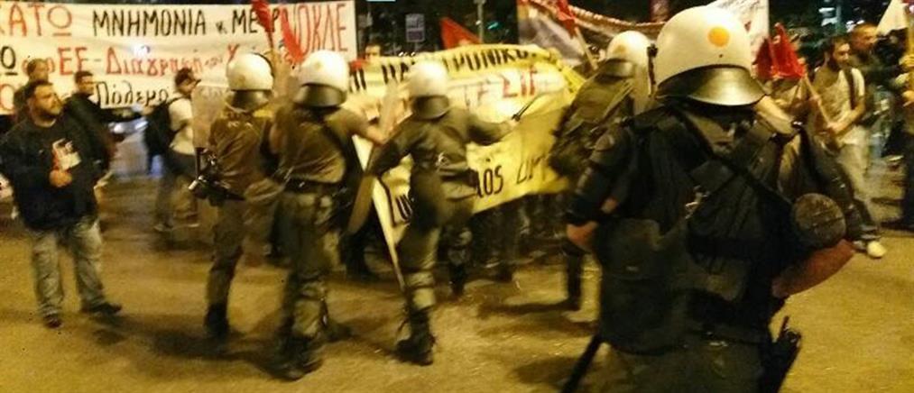 Σοβαρά επεισόδια πριν την ομιλία Τσίπρα στη Θεσσαλονίκη (βίντεο)
