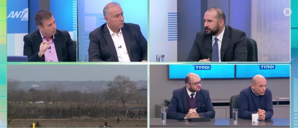 Τζανακόπουλος στον ΑΝΤ1: ο Μητσοτάκης χρησιμοποιεί για ίδιον όφελος την κρίση στα σύνορα