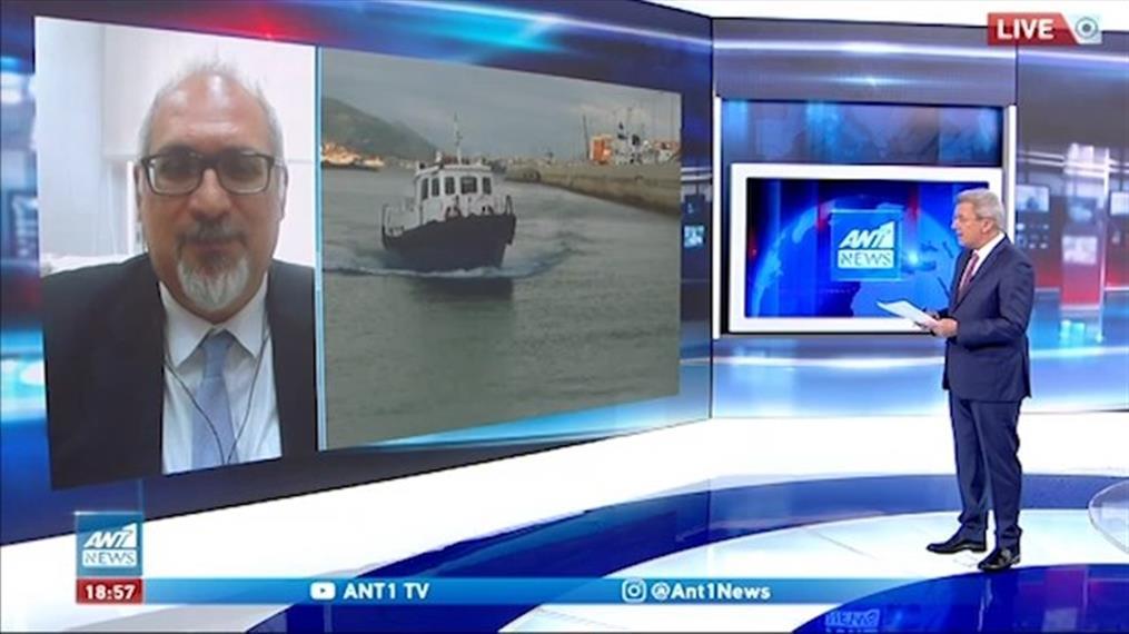 Κορονοϊός - Θωμαϊδης για λύματα στον ΑΝΤ1: Μείωση 15% στο ιικό φορτίο της Αττικής