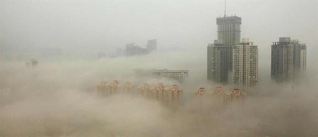 Εξαφανίστηκε το Πεκίνο από το νέφος