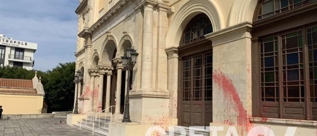 Βανδάλισαν Εκκλησία του Αγίου Μηνά (εικόνα)