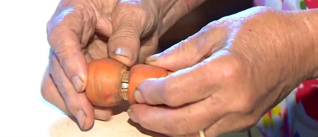 Βρήκε το χαμένο δαχτυλίδι της μετά από 13 χρόνια! (βίντεο)
