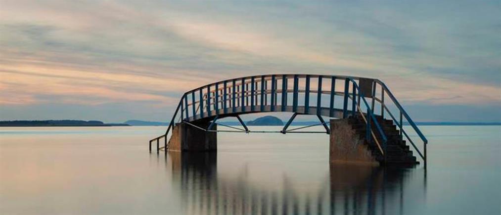 """Η πιο """"μοναχική"""" γέφυρα στον κόσμο (φωτό)"""