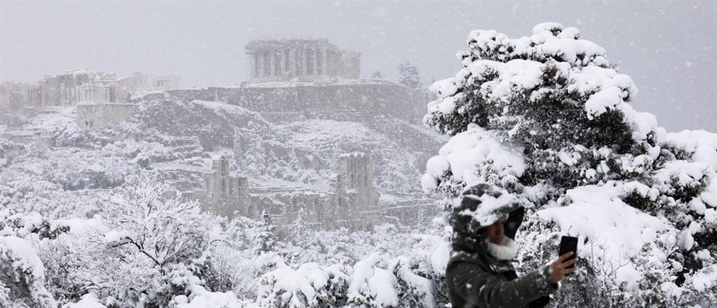 """""""Μήδεια"""" - ΕΜΥ: Ιστορικός χιονιάς στην Ελλάδα"""
