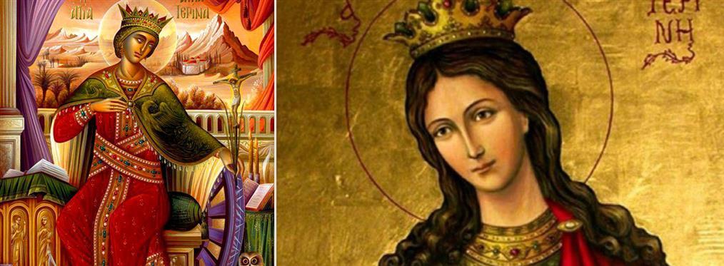 Αγία Αικατερίνη: Τα βασανιστήρια και οι θρύλοι της Μεγαλομάρτυρος