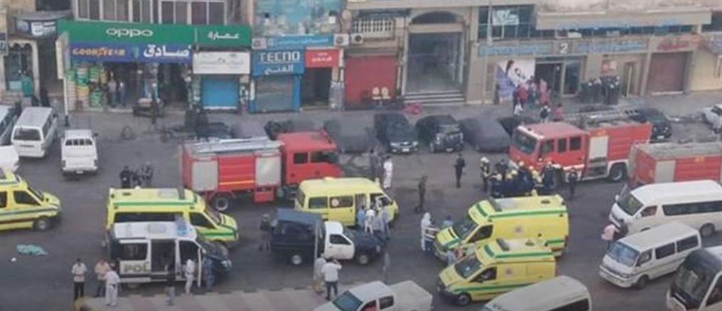 Αίγυπτος: Ασθενείς με κορονοϊό πέθαναν σε πυρκαγιά που ξέσπασε σε νοσοκομείο