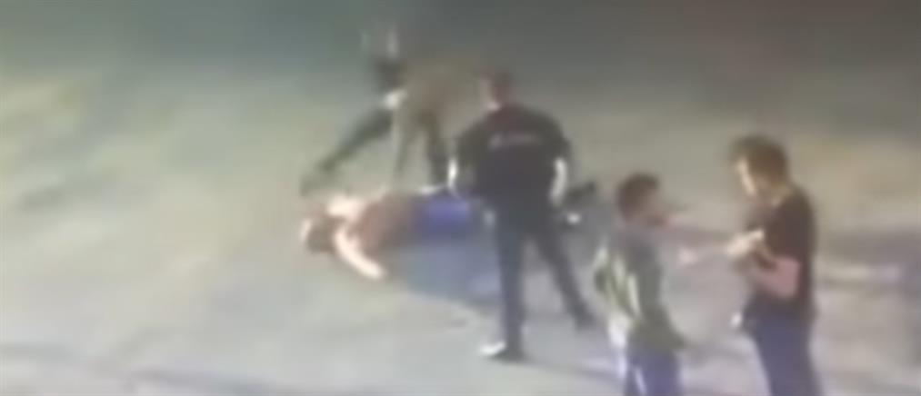 Βίντεο σοκ: Πυγμάχος σκοτώνει στο ξύλο αρσιβαρίστα σε παράνομο αγώνα