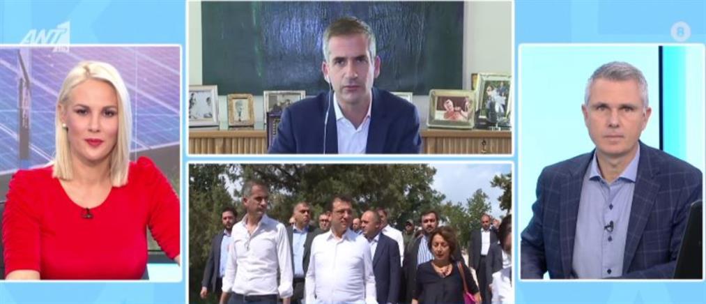 Μπακογιάνης για Ιμάμογλου: δεν θα κάνουμε δώρο στον Ερντογάν τις ελληνοτουρκικές σχέσεις